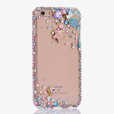 Fancy Seaside Bling Crystals iphone 7 Plus Case