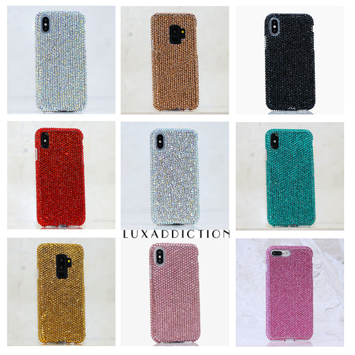 Genuine Crystals Luxaddiction phone cases