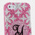 Snowflakes Personalized Monogram Design case made for iPhone 5 / 5S