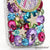 3D Girly Star Personalized Monogram Design case made for iPhone 5 / 5S