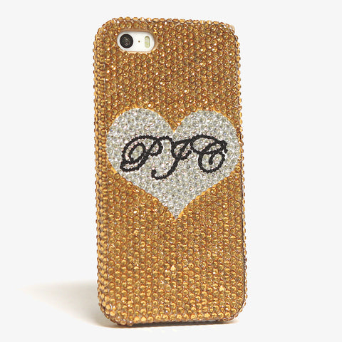 Lovely Heart Personalized Monogram Design (style MO_2040)