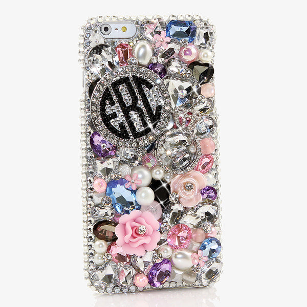 Diamond Ring Personalized Monogram Design case made for iPhone 6s Plus