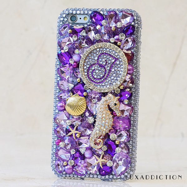 Monogram Bling Cases Handmade With Crystals From Swarovski