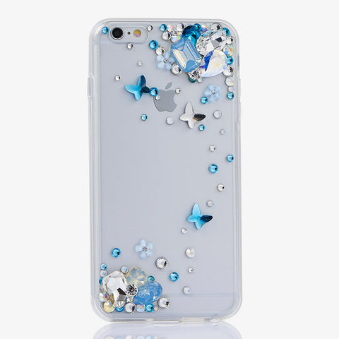 Sky Blue Wonders crystals iphone 7 case