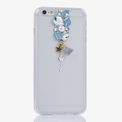 handmade crystals bling case for iphone 7