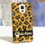 Golden Leopard Personalized Name & Initials Design case made for Samsung Galaxy S5
