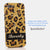 Golden Leopard Personalized Name & Initials Design case made for iPhone 5 / 5S