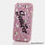 Baby Pink Personalized Name & Initials Design case made for iPhone 5 / 5S