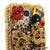 3D Leopard Bow Personalized Name & Initials Design case made for Samsung Galaxy S4