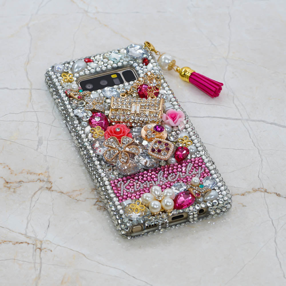 crystals samsung galaxy s9 plus case