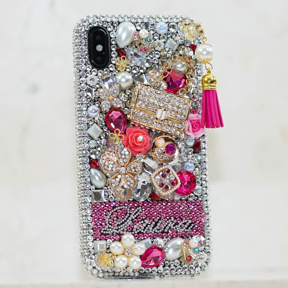 95dc81bc5307 Personalized bling cases handmade with crystals from Swarovski ...