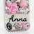 Never Leaf You Personalized Name & Initials Design case made for iPhone 5 / 5S