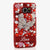 Red Garden Personalized Name & Initials Design Handmade for Samsung Galaxy S6
