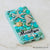 Turquoise iphone 8 case