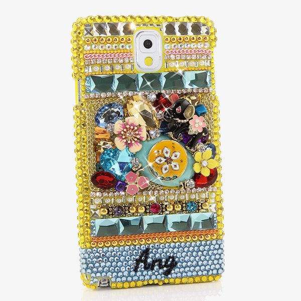 RASTAFARI VIBRANCE Personalized Name & Initials Design case made for Samsung NOTE