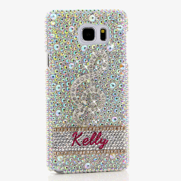 MUSICALLY MAGNIFICENT Personalized Name & Initials Design case made for Samsung Note 5