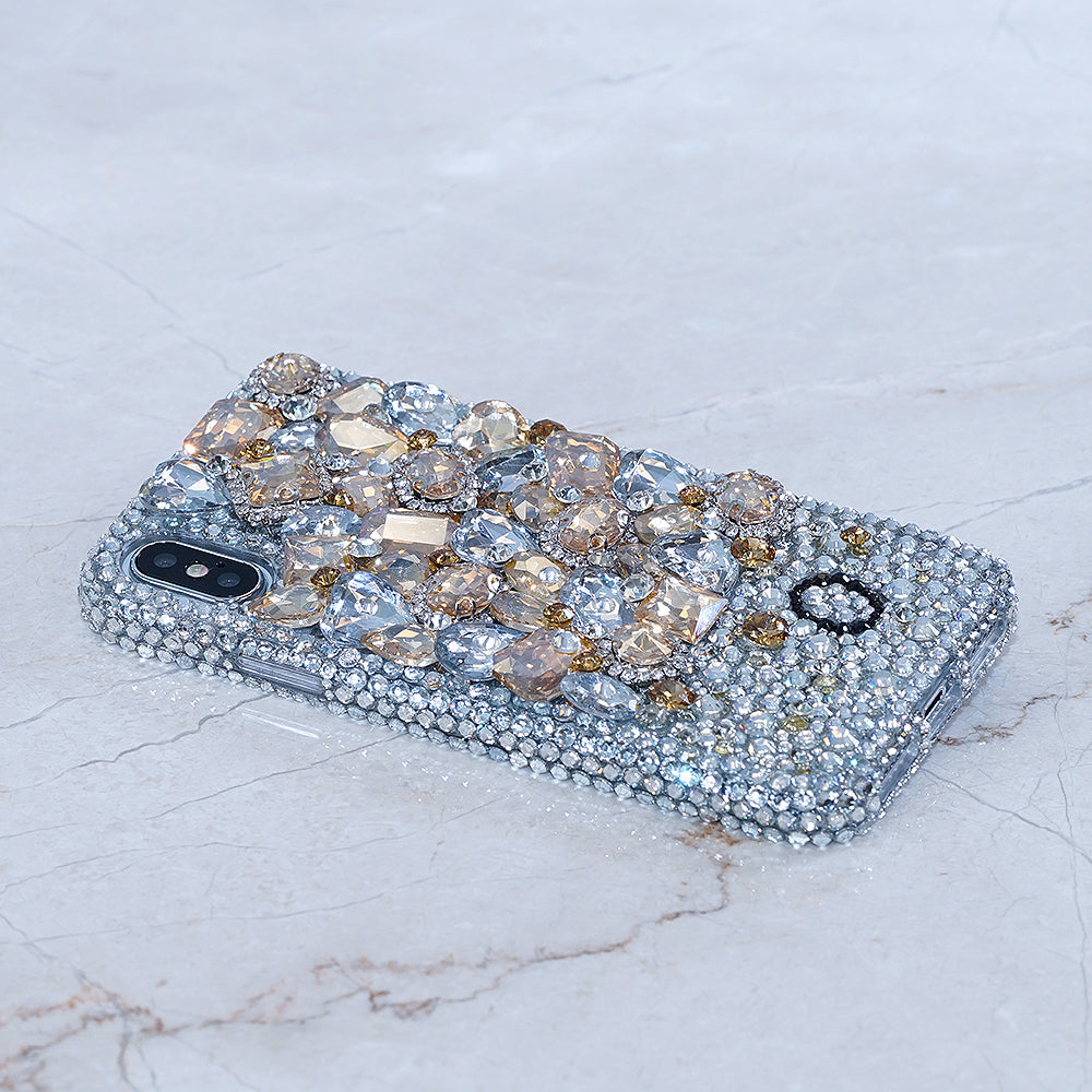 yellow gemstone iphone x case