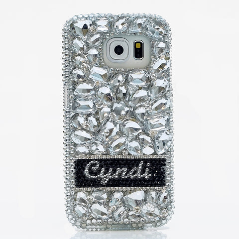 custom crystals Samsung S8 case