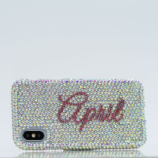 AB Crystals iphone Xs case