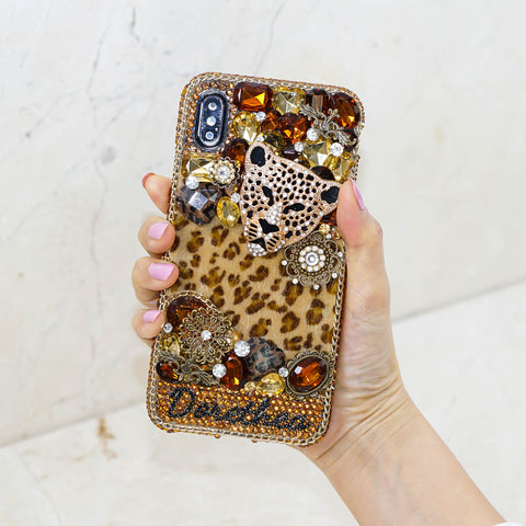 leopard iphone xs max case