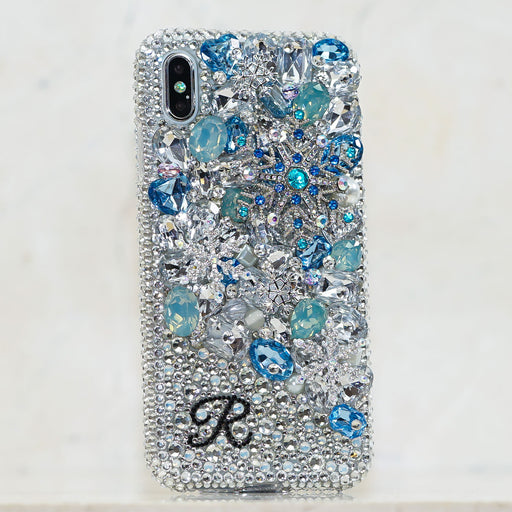 snowflakes iphone xs case