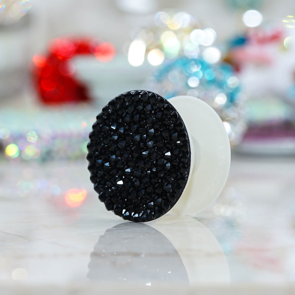 black crystals popsockets