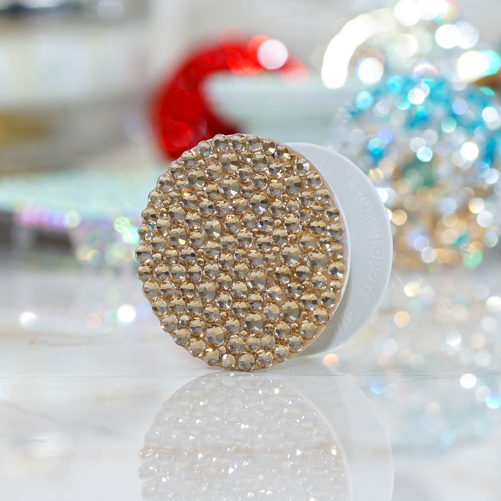 Champagne crystals popsockets