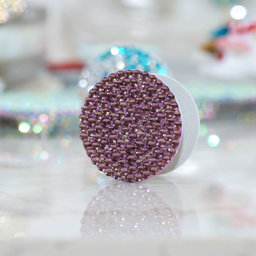 Genuine Amethyst Crystals PopSockets PopGrip (POP206)