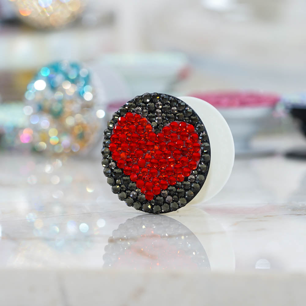 Red Heart PopSockets