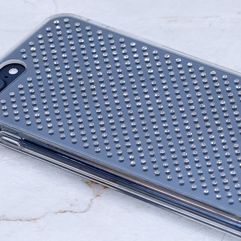 iPhone 8 Case - Genuine Clear Crystals (Pure Diamond Sparkle)