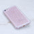 iPhone 8 Case - Genuine Pink Crystals