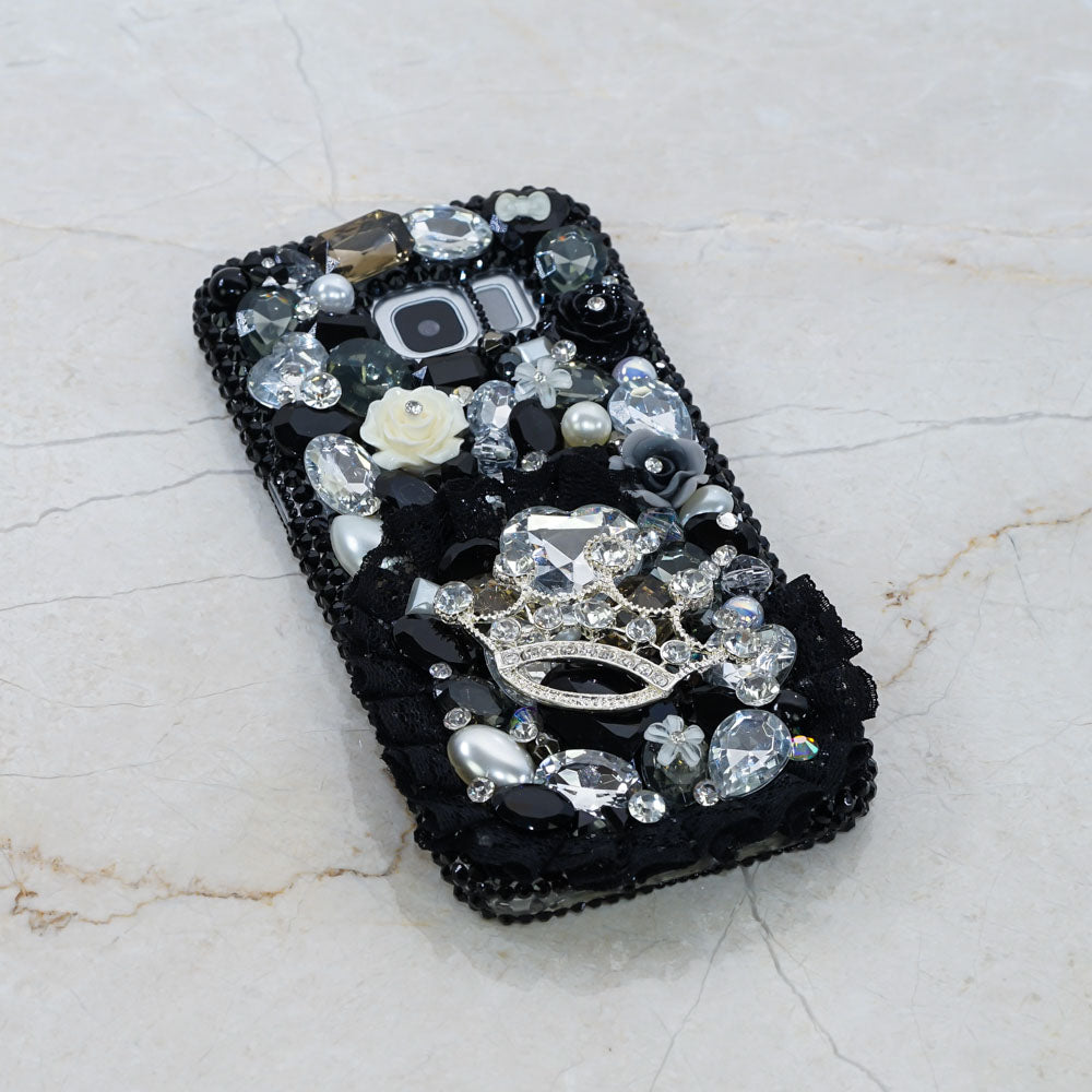 black lace Samsung Galaxy S9 case