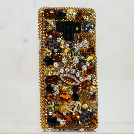 gold crown Samsung note 9 case