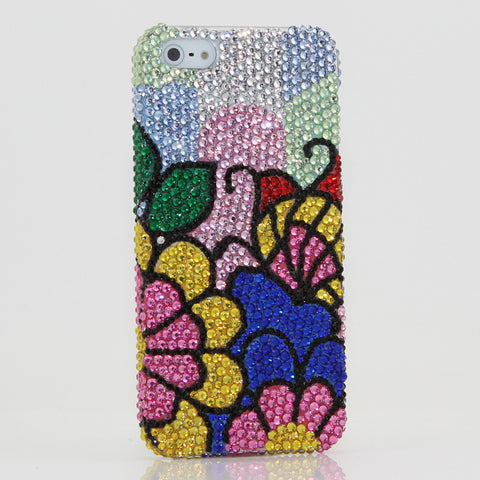 Sunny Flowers Design case made for iPhone 5 / 5S