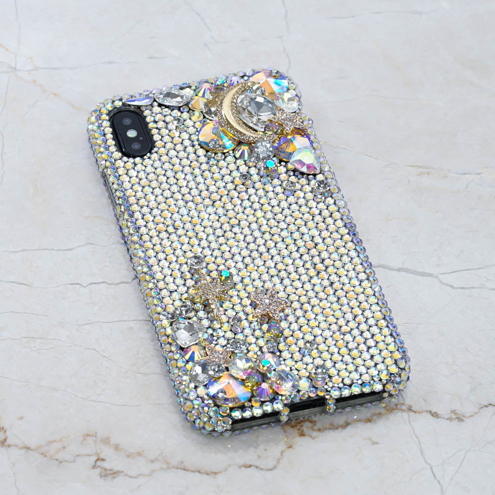swarovski crystals iphone case