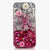 Clear and Pink Bow Design case made for iPhone 5 / 5S