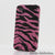 Pink and Black Zebra Design case made for iphone 4 / 4S