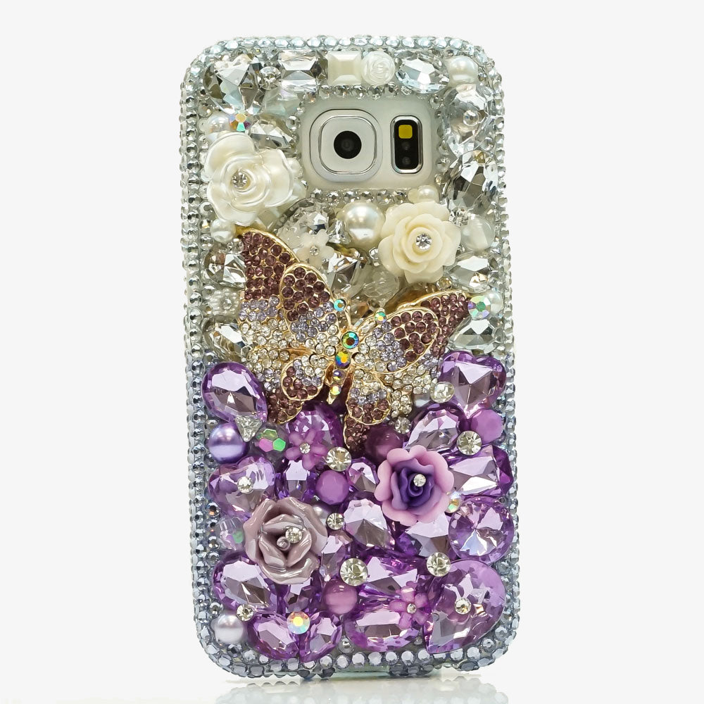 purple butterfly samsung s9 plus case