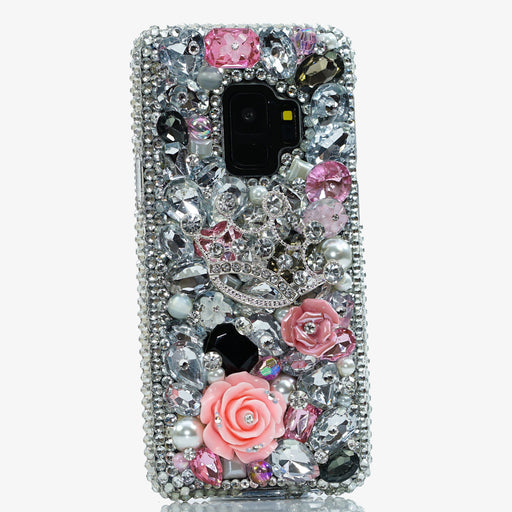 Silver crown Samsung Galaxy S9 case