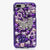 purple butterfly bling iphone 7 plus case