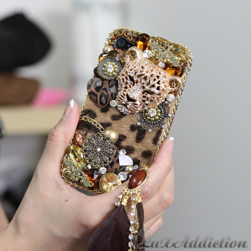 LUX Leopard Design Case Made for iPhone 4 / 4S