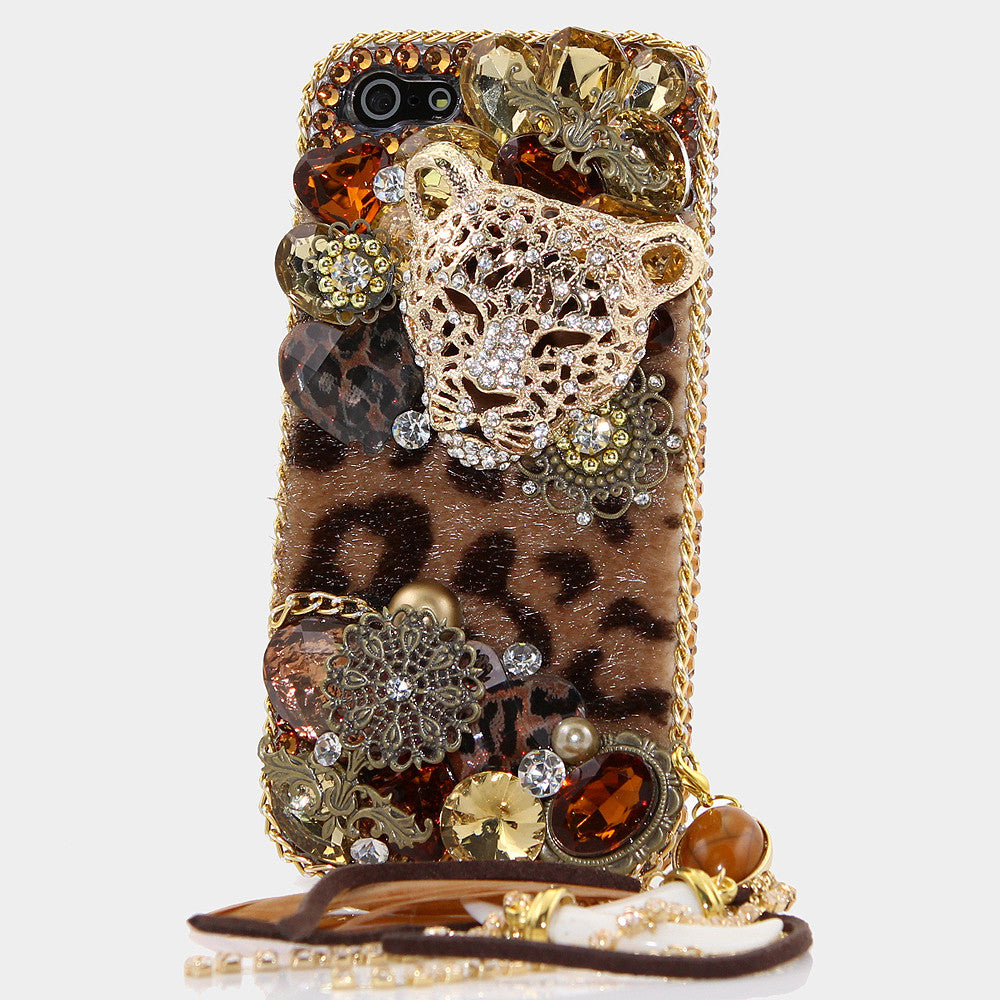 LUX Leopard Design Case Made for iPhone 5 / 5S