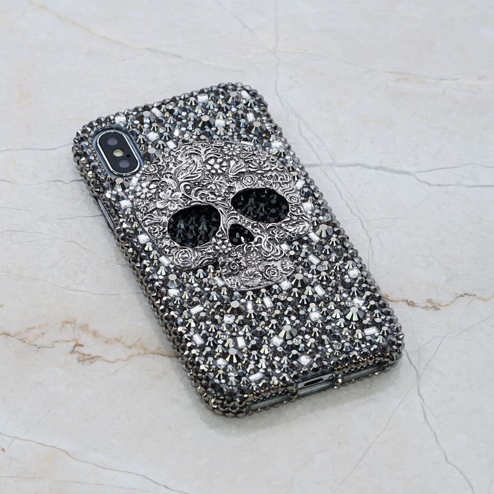 skull iphone XR case