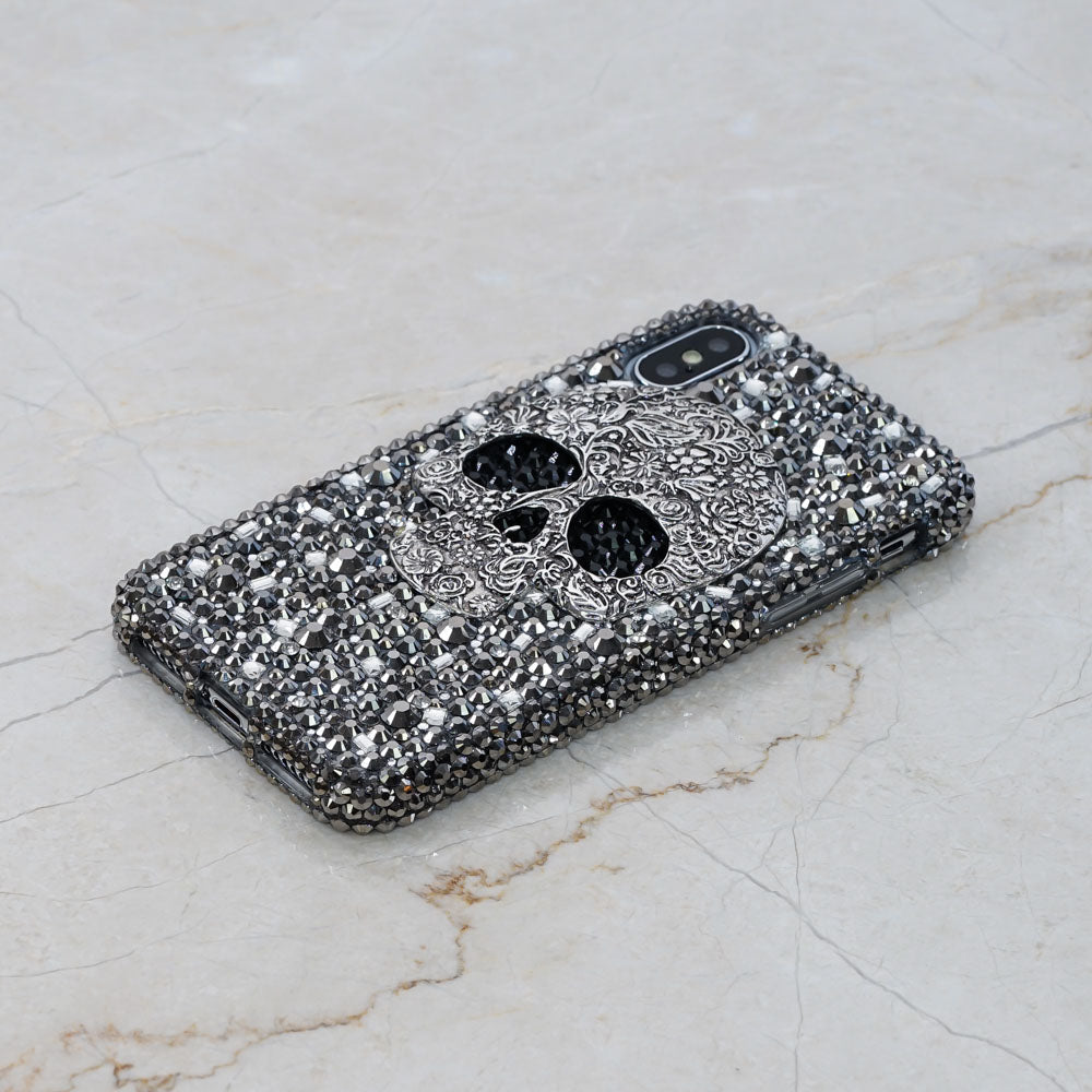 skull bling iphone Xs Max case