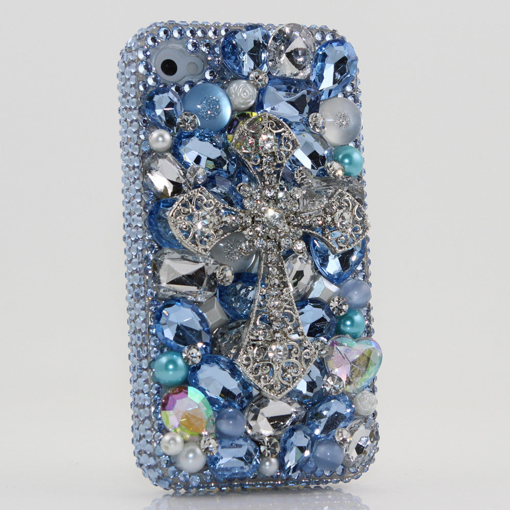 Blue Cross Design case made for iPhone 4 / 4S