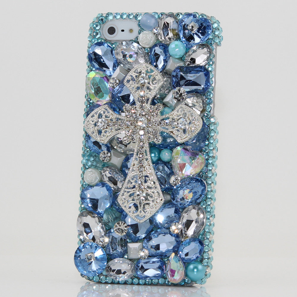 Blue Cross Design case made for iPhone 5 / 5S