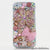 Flower and Pink Pearl Bow Design case made for iphone 5 / 5S