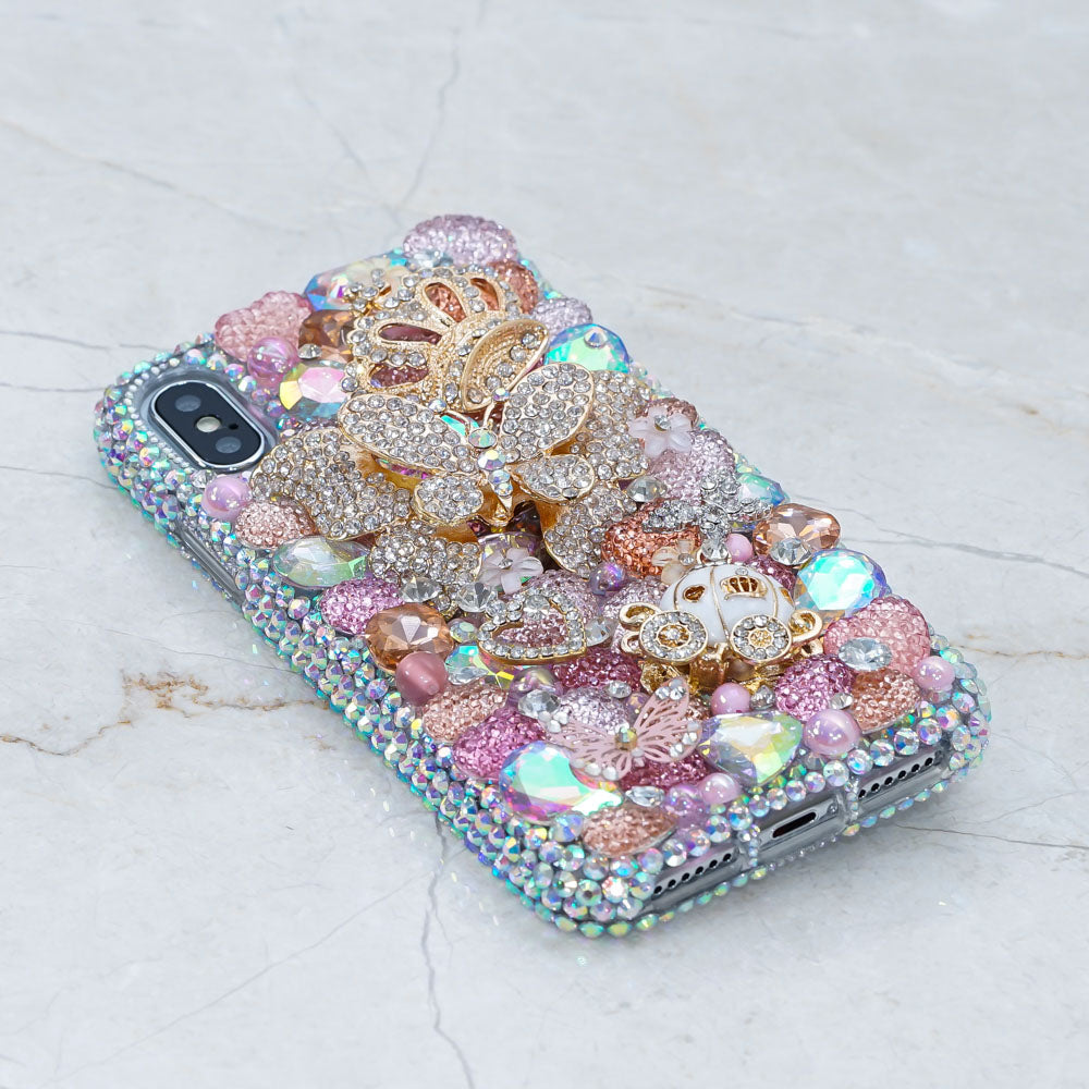 butterfly crown iphone Xs Max case