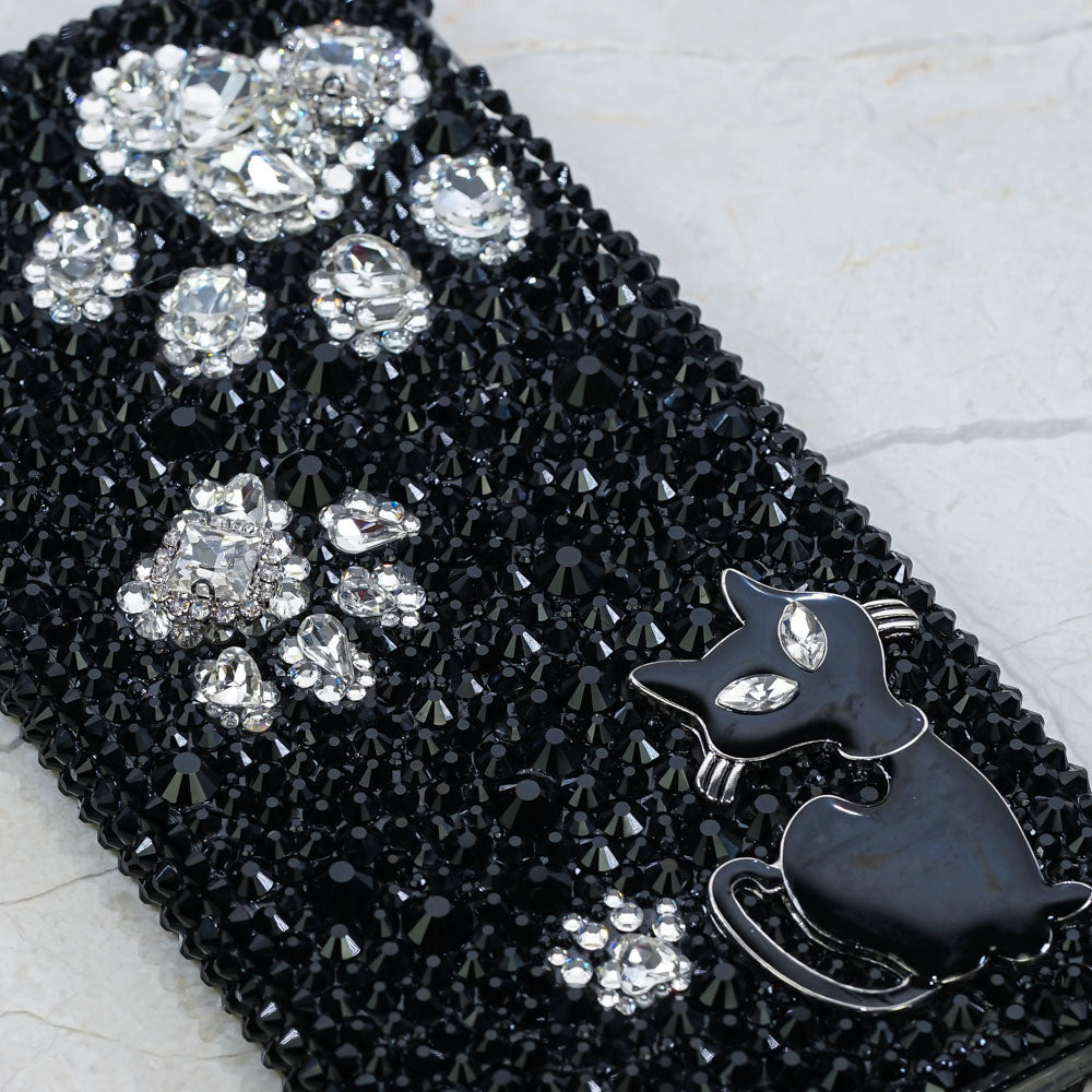 bling cat samsung note case