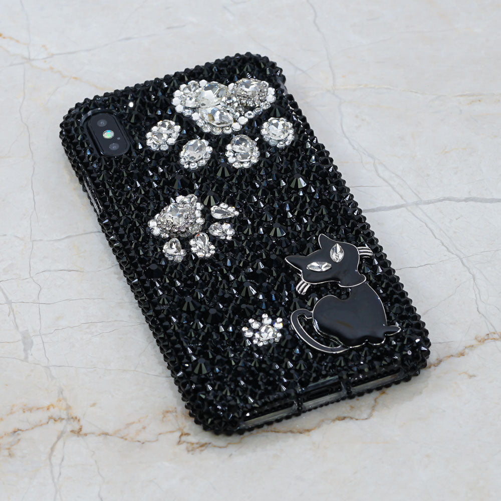 black cat iphone x case
